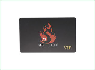 Magnetic Barcode Plastic Membership Cards , Plastic Smart Card Non Contact Type