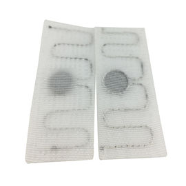 Textile Fabric Woven RFID Laundry Tag For Automatic Laundry Industry