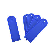 High Temperature Laundry Tagging System / Reusable UHF Silicone RFID Clothing Tags