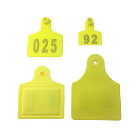 Alien Higgs 3 RFID Animal Ear Tags For Cow Tracking Colourful TPU Material