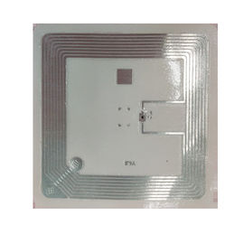 13.56MHz Wet RFID Inlay Stickers ISO15693 ICODE SLIX For Library Smooth Surface