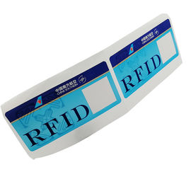 Custom RFID 860~960MHz 475*54mm Luggage Label Sticker Baggage For Tracking Management