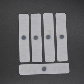 Heat Resistant UHF Textile Fabric Woven RFID Laundry Tag For Garment Or Towel Management
