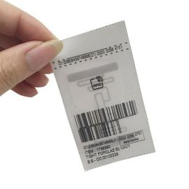 Apparel Management Printing Custom Tag RFID Garment Wash Care Labels For Clothing