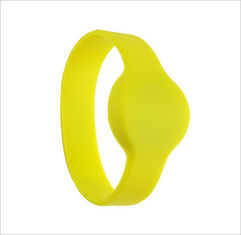 Durable Passive G02 Round Shaped Watch-dia RFID Chip Silicone Wristband or Bracelets