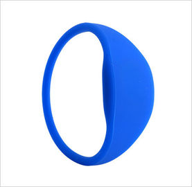 Durable Passive G03B (Curve in the Head,Oval Shape for Both Sides) RFID Silicone Wristband or Bracelets