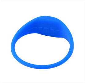 Durable Passive G03(Curve in the Head,Oval Shape for Both Sides) RFID Silicone Wristband or Bracelets