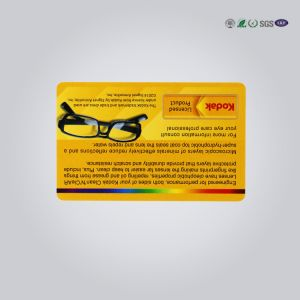 Passive Label RFID Smart Card 85.5*54*0.84mm Read - Write Card Structure